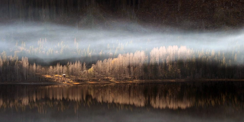 Smoke at Åresjön, Sweden · Fotograf: Torsten Stoll · neoton photography