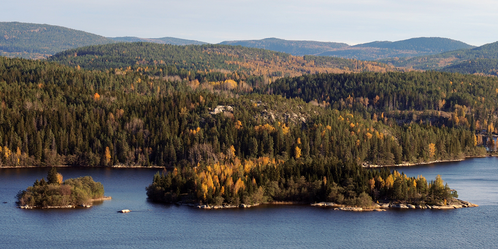 Islands in autumn, Sweden · Fotograf: Torsten Stoll · neoton photography