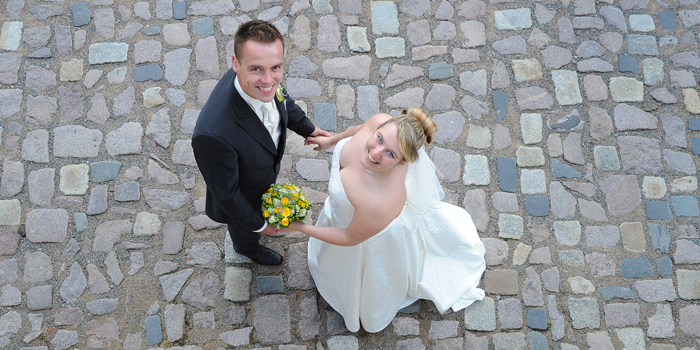 Hochzeit auf Schloss Weesenstein · Hochzeitspaar